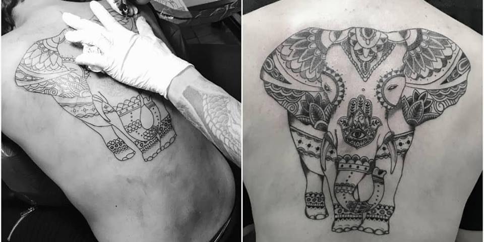 Elefantemandala-elefantes-oriental-fernando